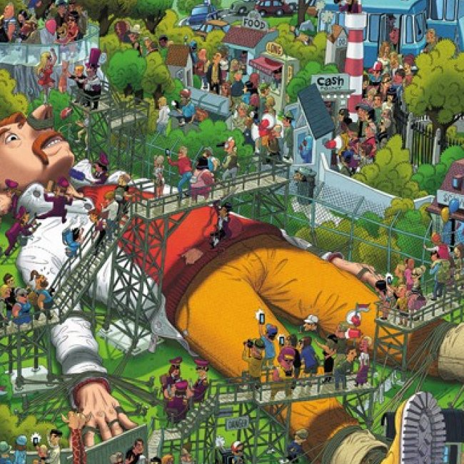 Puzzle Oesterle Gulliver