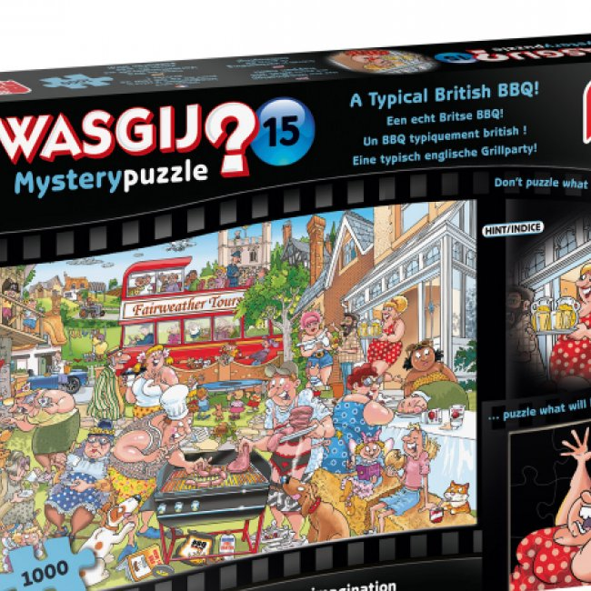 Puzzle Wasgji Mystery 15